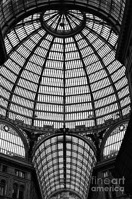 Naples Galleria Print by John Rizzuto