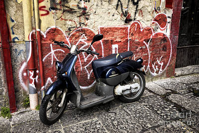 Photograph - Naples Graffiti Ride by John Rizzuto