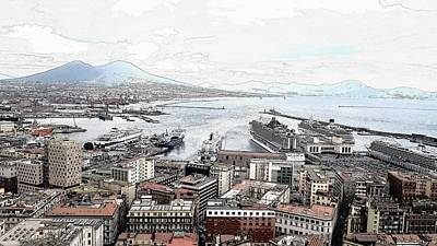 State Love Nancy Ingersoll - Naples, Italy -Digital by Tom Wade