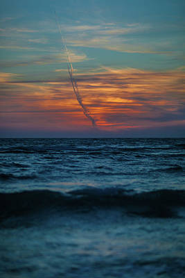 Southwest Florida Sunset Photograph - Naples Launch by Dan Vidal