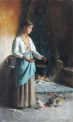 Ruggiero Painting - Naples  by Pasquale Ruggiero