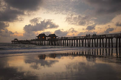 Photograph - Naples Pier by Heidi Hermes