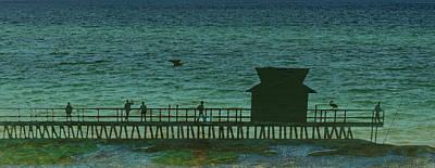 Naples Pier Art Print