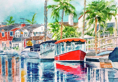 Painting - Naples Red by Debbie Lewis