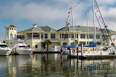 Photograph - Naples Sailing And Yacht Club IIi by Brian Jannsen