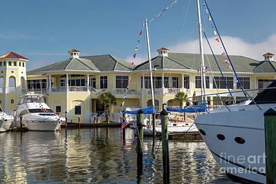 Photograph - Naples Sailing And Yacht Club Iv by Brian Jannsen