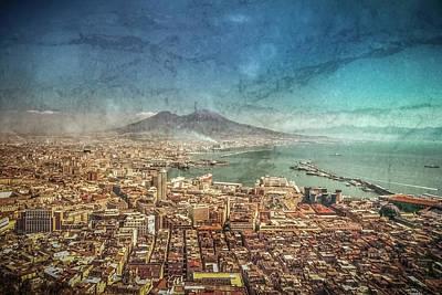 Photograph - Naples, Italy - Vesuvio E Napoli by Mark Forte
