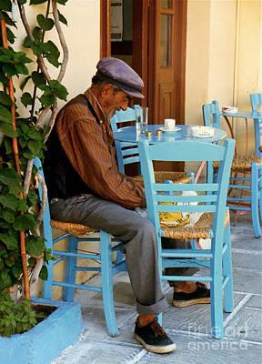 Photograph - Naplion Lunch by JK McCrea