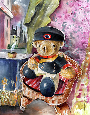 Painting - Napoleon Bearnaparte by Miki De Goodaboom
