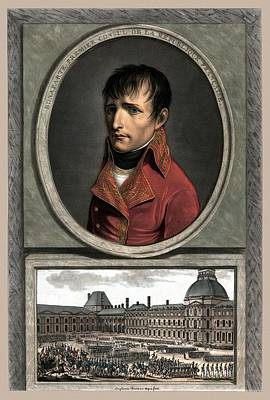 Royalty-Free and Rights-Managed Images - Napoleon Bonaparte And Troop Review by War Is Hell Store