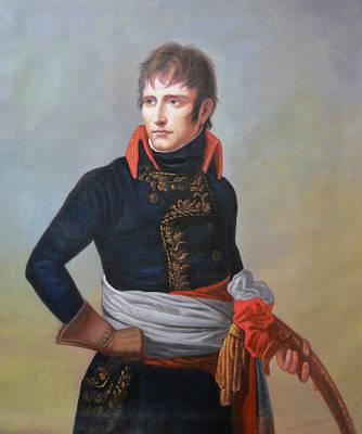 Portraits Royalty-Free and Rights-Managed Images - Napoleon Bonaparte as First Consul by Andrea Appiani