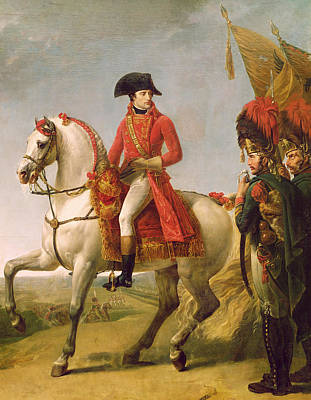 The Red Baron Painting - Napoleon Bonaparte by Baron Antoine Jean Gros