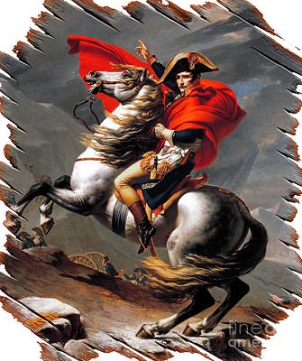 Mixed Media - Napoleon Bonaparte by Doc Braham