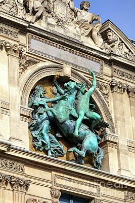 Photograph - Napoleon Bonaparte Monument Paris by John Rizzuto