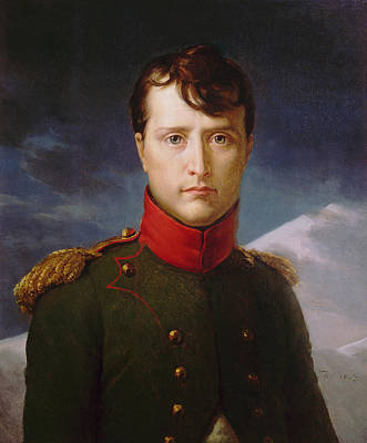 Napoleon Painting - Napoleon Bonaparte Premier Consul by War Is Hell Store