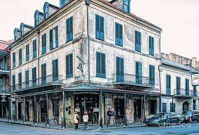 Photograph - Napoleon House - Nola by Kathleen K Parker