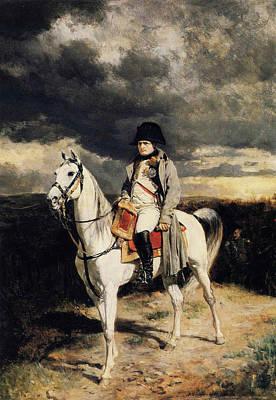 Napoleon I In 1814 Art Print by Ernest Meissonier