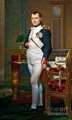 Tuileries Painting - Napoleon In His Study At The Tuileries by MotionAge Designs