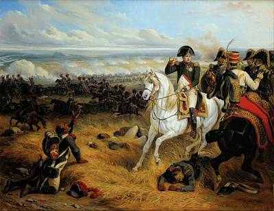 July Painting - Napoleon In Wagram July by MotionAge Designs