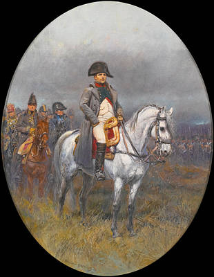 Painting - Napoleon On Horseback by Edouard Detaille