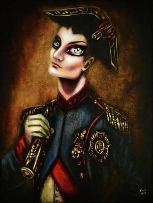 Surrealism Royalty Free Images - Napoleon at War  Royalty-Free Image by Tiago Azevedo