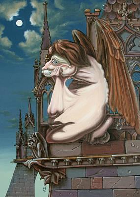 Statue Portrait Painting - Napoleon by Victor Molev