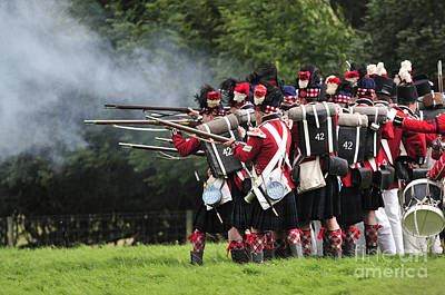 Re-enactments Photograph - Napoleonic Battle by Andy Smy