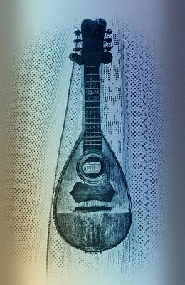 Napolitan Mandolin Print by Bill Cannon