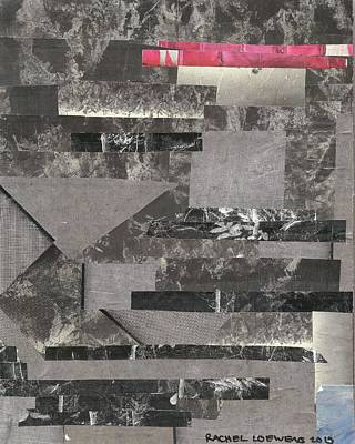 Mixed Media - Naptime Collage 05 by Rachel Loewens