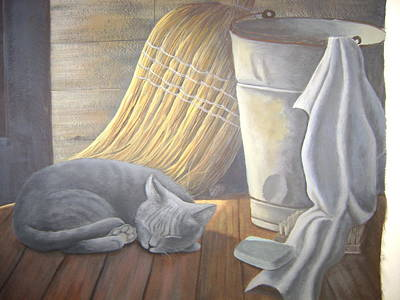 Naptime Art Print by Judy Keefer