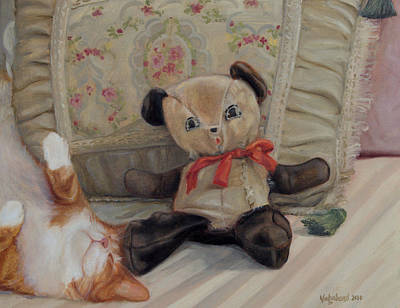 Painting - Naptime by Suzn Art Memorial
