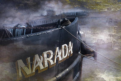 Photograph - Narada At Fisherman's Terminal by Jeff Burgess