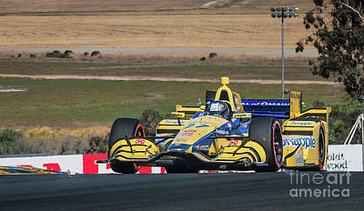 Indycar Photograph - Marco Andretti 2 by Webb Canepa