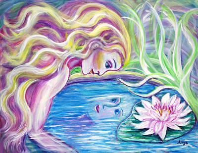 Painting - Narcissis by Anya Heller