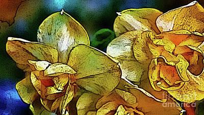Photograph - Narcissus by Jolanta Anna Karolska
