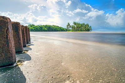Photograph - Nariva River Mouth, Trinidad by Nadia Sanowar
