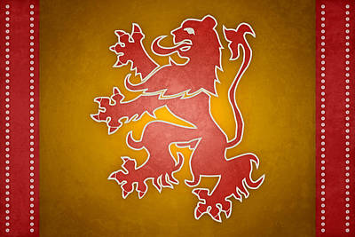 Narnia Flag Of War Art Print