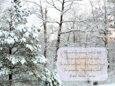 Emerson Digital Art - Narnia - Poem by Anita Faye
