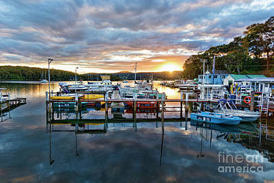 Photograph - Narooma Marina by Stuart Row