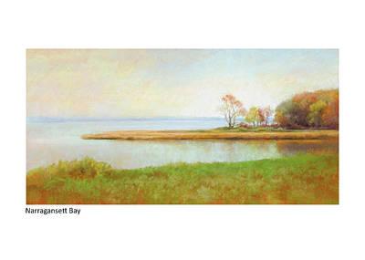 Pastel - Narragansett Bay by Betsy Derrick