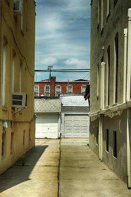 Photograph - Narrow Alley by Cate Franklyn
