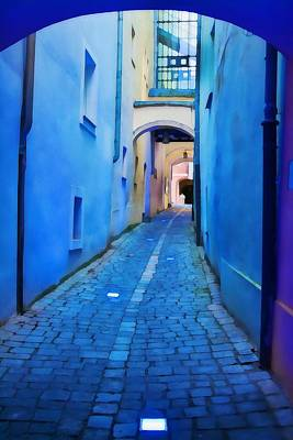 Photograph - Narrow Blue Passage  by Tatiana Travelways
