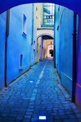 Photograph - Narrow Blue Passage  by Tatiana Travelways