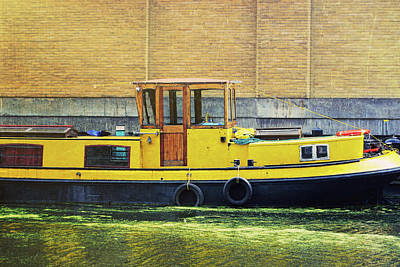 Photograph - Narrow Boats by JAMART Photography