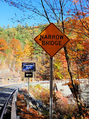 Yield Painting - Narrow Bridge 2 by Lanjee Chee