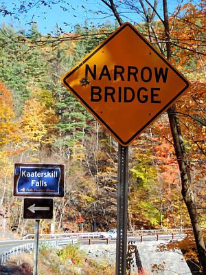 Yield Painting - Narrow Bridge 4 by Lanjee Chee