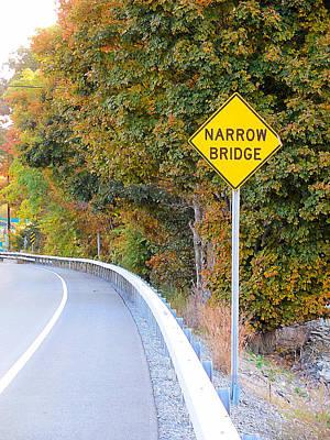 Yield Painting - Narrow Bridge 5 by Lanjee Chee