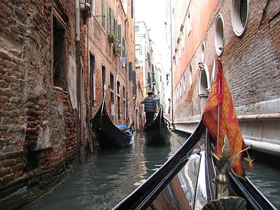Photograph - Narrow Canal by Dylan Punke
