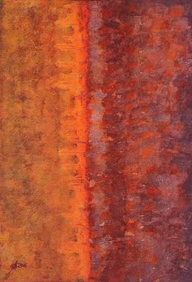 Painting - Narrow Divide Original Painting by Sol Luckman