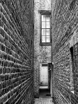 Photograph - Narrow Entry In Charleston by Dave Mills
